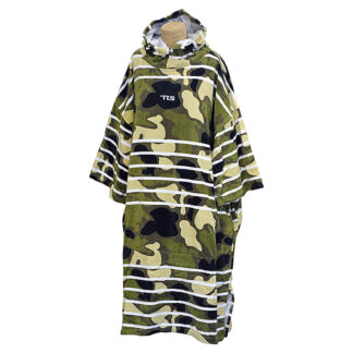 TLS Poncho Adult Cotton Zippered