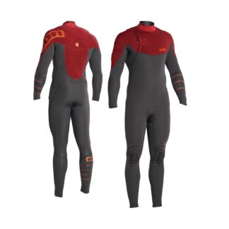 ION AMP Mens Wetsuit Steamer 3-2mm LS Zipless