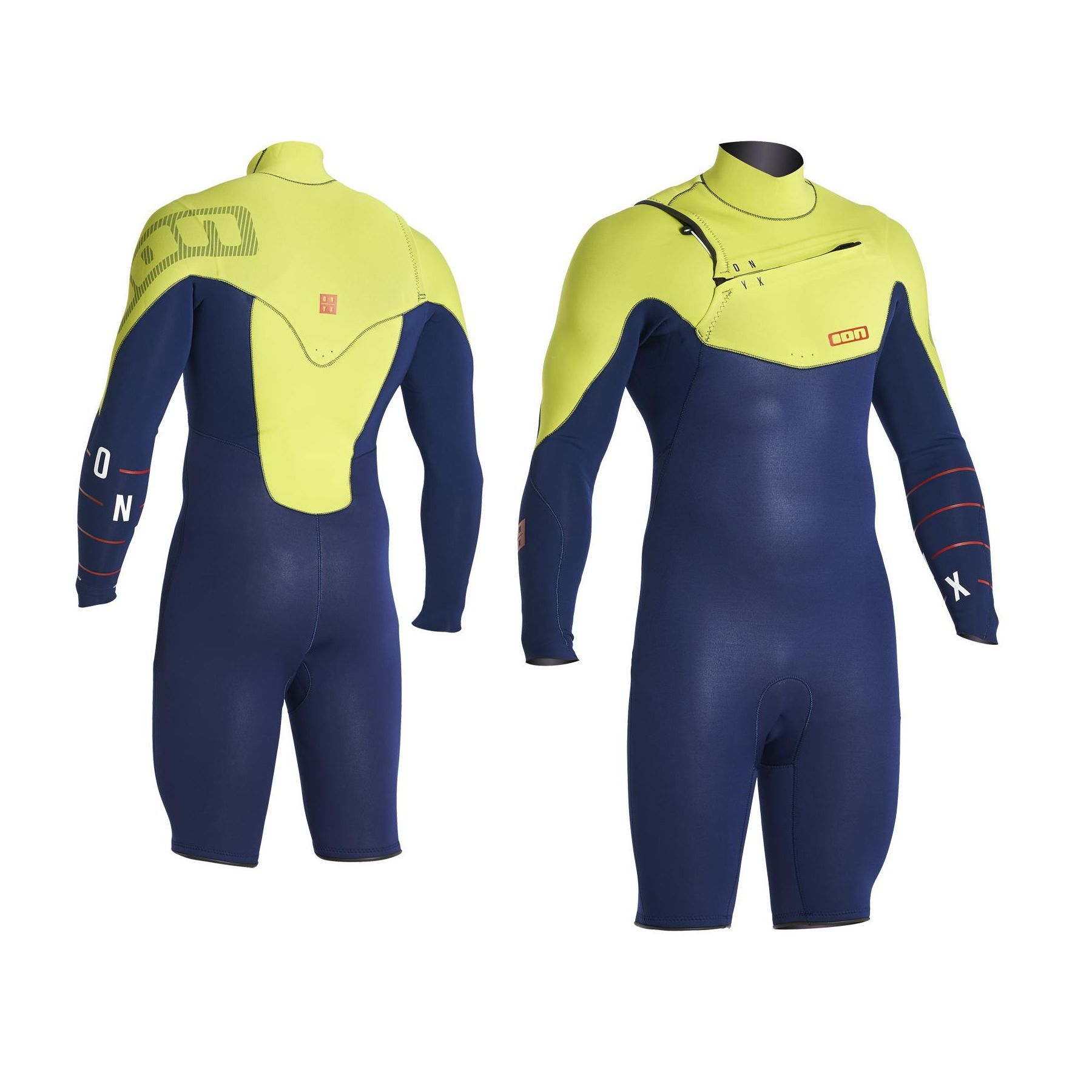 ION Onyx Mens Wetsuit Shorty Springy LS - BUY ONLINE! - Manly Surfboards d1535a0fbacc