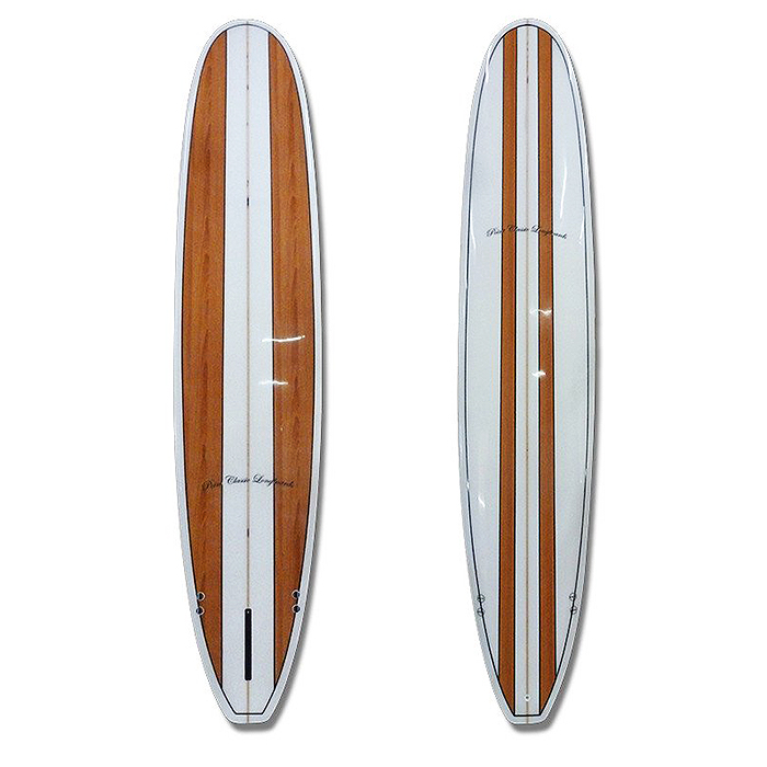 Point Classic Longboard Wood Design Manly Surfboards