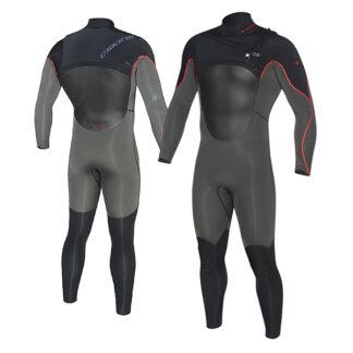 C-SKINS HotWired Mens Wetsuit Steamer 3-2mm LS Chest Zip