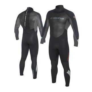 C-SKINS Surflite Mens Wetsuit Steamer 3-2mm LS Back Zip