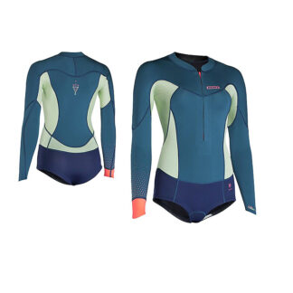 ION Muse Hot Shorty Womens Wetsuit LS