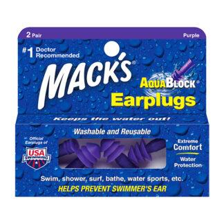 Mack's Silicon Aquablock Ear Plugs