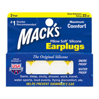 Mack's Pillow Soft Silicon Ear Plugs