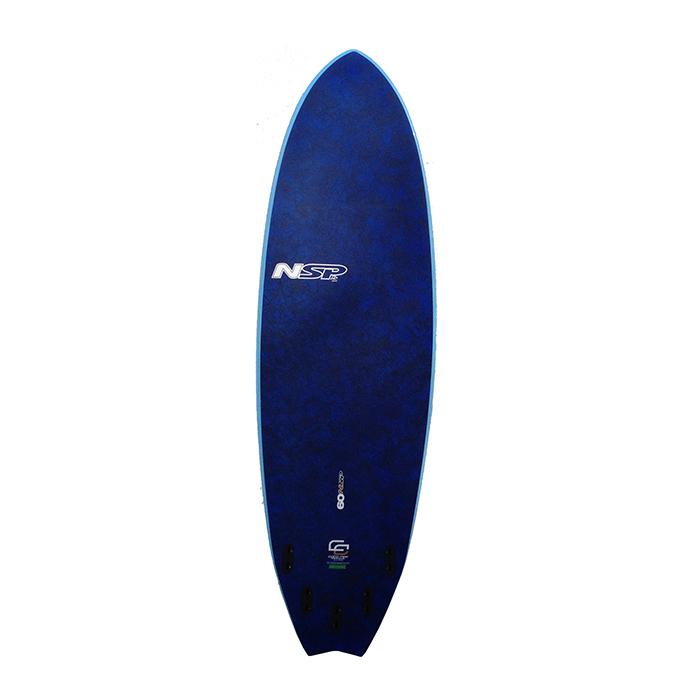 Nsp 04 coco hybrid surfboard sepsepsitename for Hybrid fish surfboard