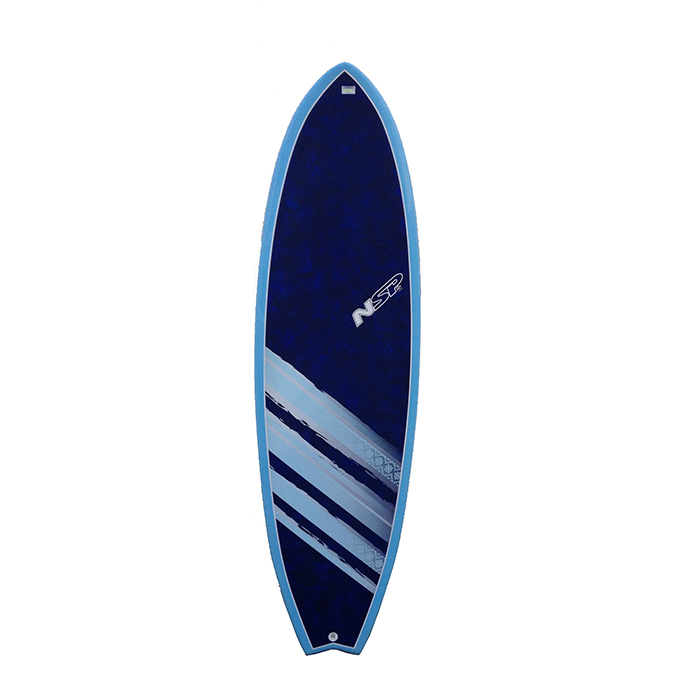 Nsp 04 coco hybrid surfboard great beginners design eco for Hybrid fish surfboard