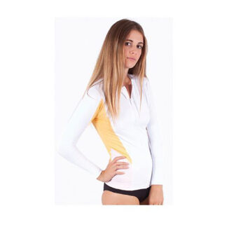 Honey Oceana Lycra Top Full Zip LS