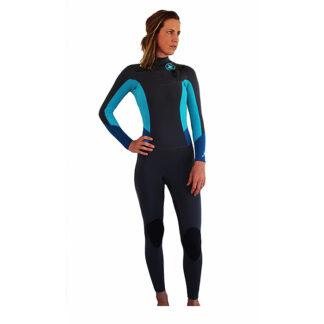 Reeflex Lilly Ocean Ladies Wetsuit Steamer 3-2mm