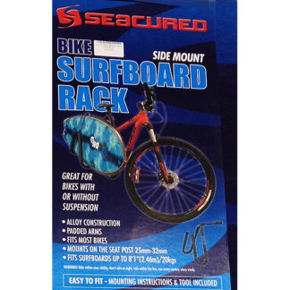 Seacured Side Loader Bike Surfboard Rack