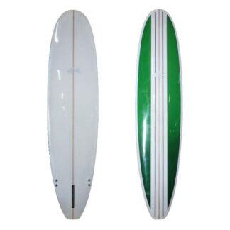 Sunride Surfboard Mal Green Stripe