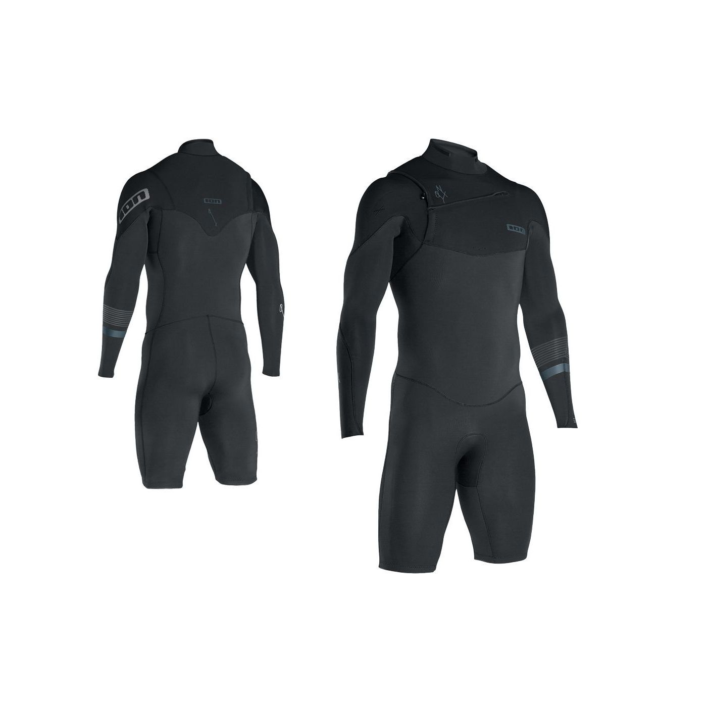 ec3ff957ba ION Onyx Mens Wetsuit Shorty Springsuit LS - BUY ONLINE! - Manly ...