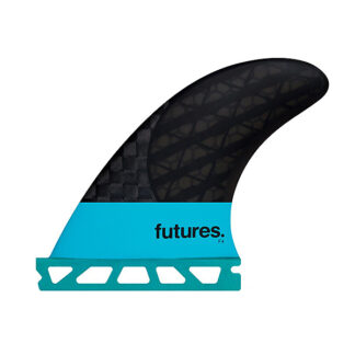 Future Fins F4 Blackstix 3 Small Tri Set