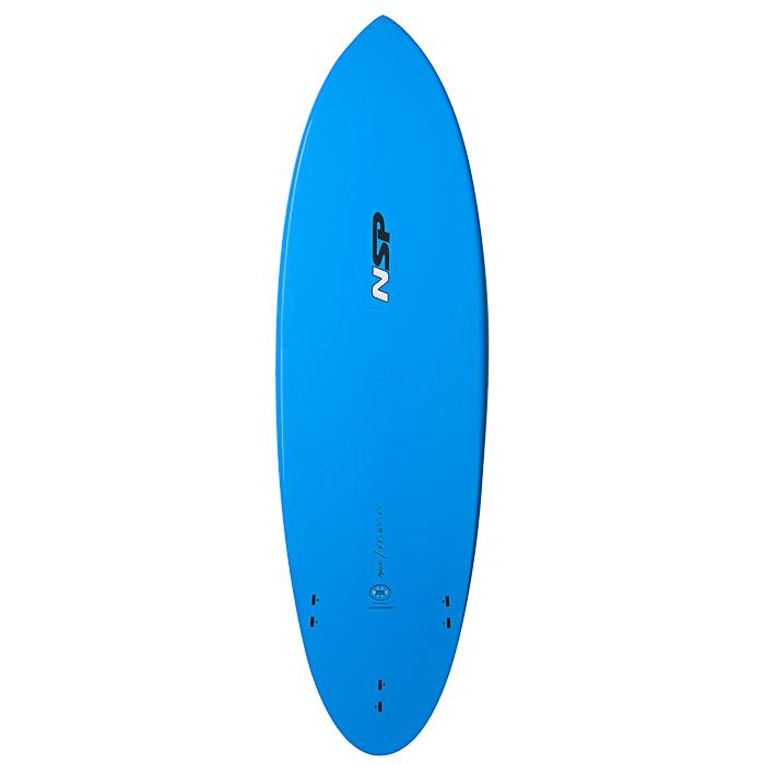Nsp 04 elements hybrid surf shortboard buy online for Hybrid fish surfboard
