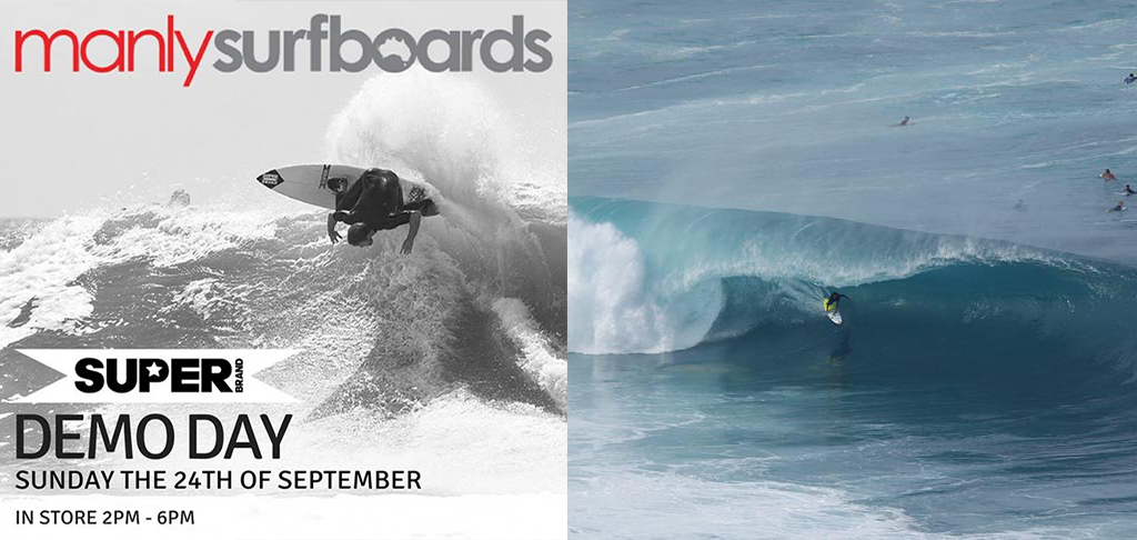 Manly Surfboards SUPERBrand Demo Day