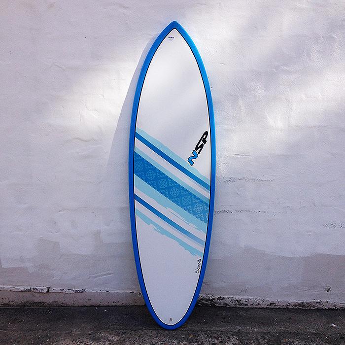 6 39 0 nsp elements hybrid second hand surfboard buy online for Hybrid fish surfboard