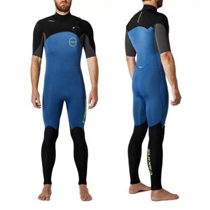 C-SKINS ReWired Mens Wetsuit Steamer 2-2mm Short Sleeve Chest Zip