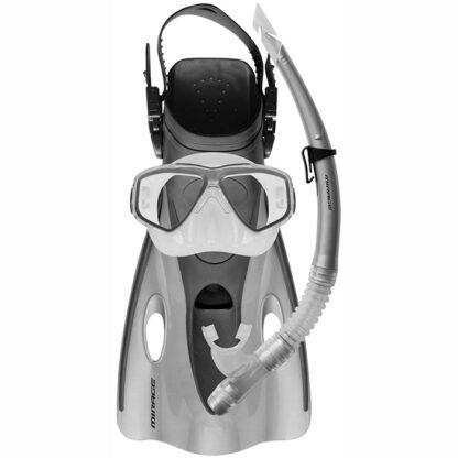 Ezi-Travel Mask Snorkel Fin Set