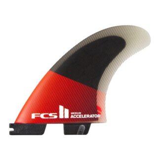 FCS II Accelerator PC Tri Fin Set