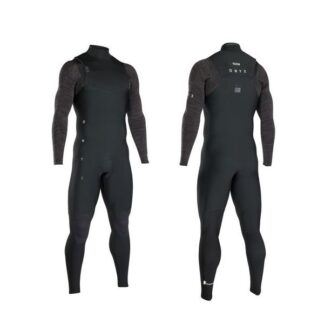 ION AMP Mens Wetsuit Steamer 4-3mm LS Zipless Wetsuits