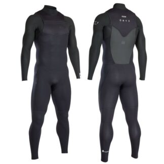 ION Onyx Element FZ Mens Wetsuit Steamer 4-3mm LS Wetsuits