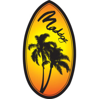 Mad Dog Wedge Skimboard 37""