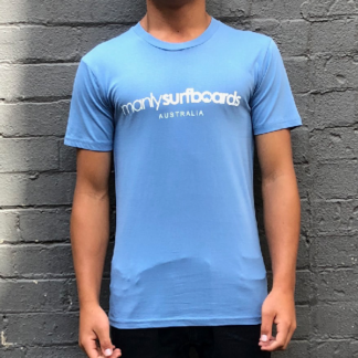 Manly Surfboards Classic Logo T-Shirt