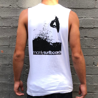 Manly Surfboards Singlet Mens