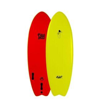 Mullet Fish Finger 5'2 Softboard