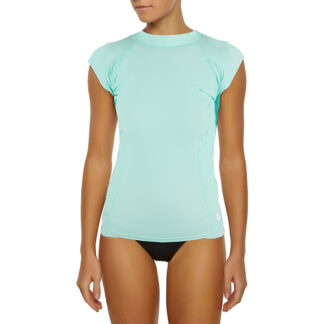 Ocean & Earth Ladies Luna Cap Sleeve Rash Vest