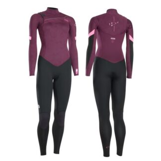ION Womens Wetsuit BS Trinity Core Semidry 3-2mm FZ DL Wetsuits