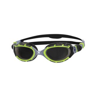 Zoggs Predator Flex Reactor 2.0 Titanium Goggles