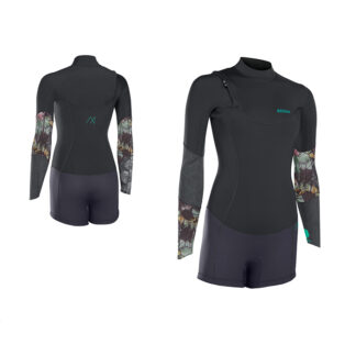 ION Wetsuit BS Muse Shorty LS 2 NZ DL Black