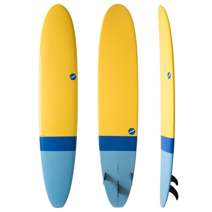 NSP 06 Elements HDT Longboard Yellow