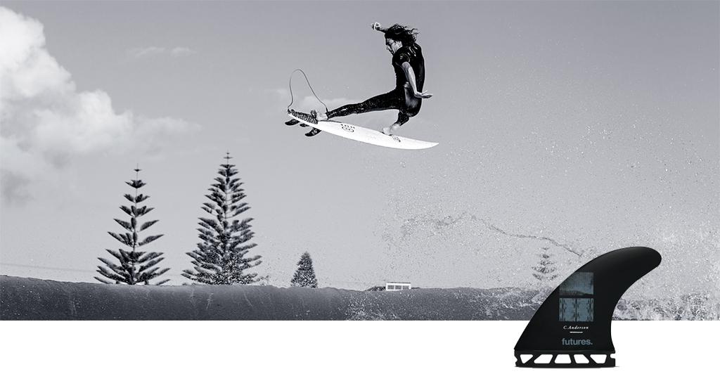 Choosing Surfboard Fins Craig Anderson Signature Futures Fin