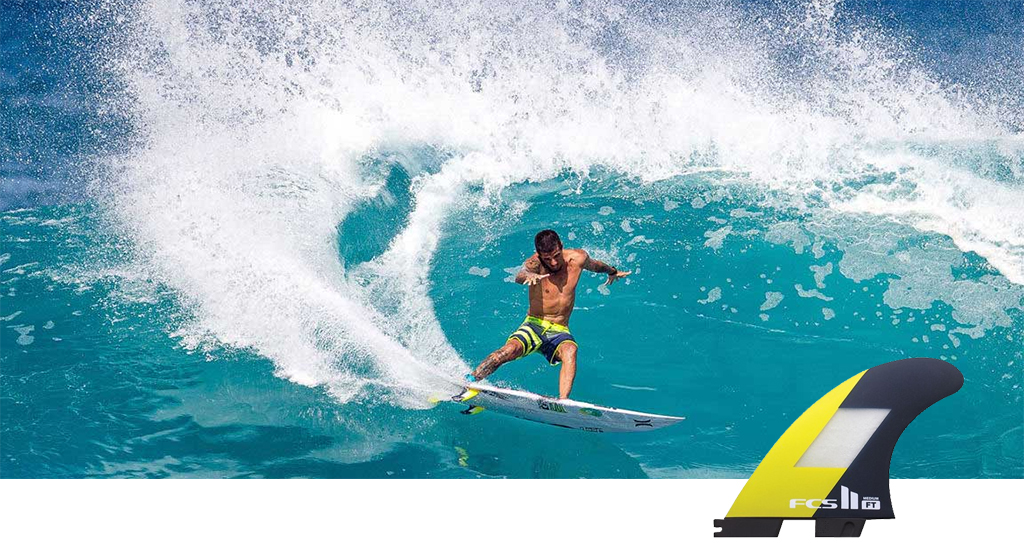 Choosing Surfboard Fins Filipe Toledo Signature Fin Short Arc Turn