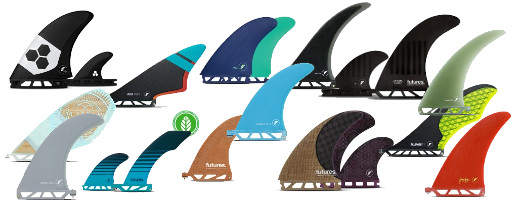 Choosing Surfboard Fins Many Fin Styles