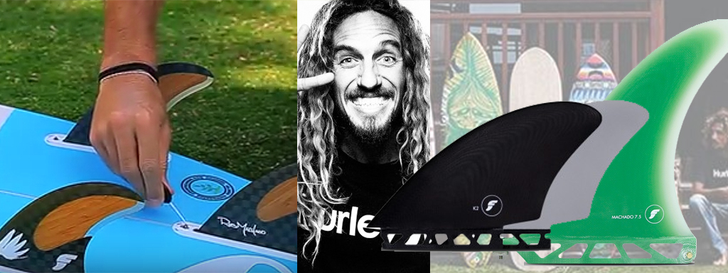 Choosing Surfboard Fins Rob Machado Mixes It Up