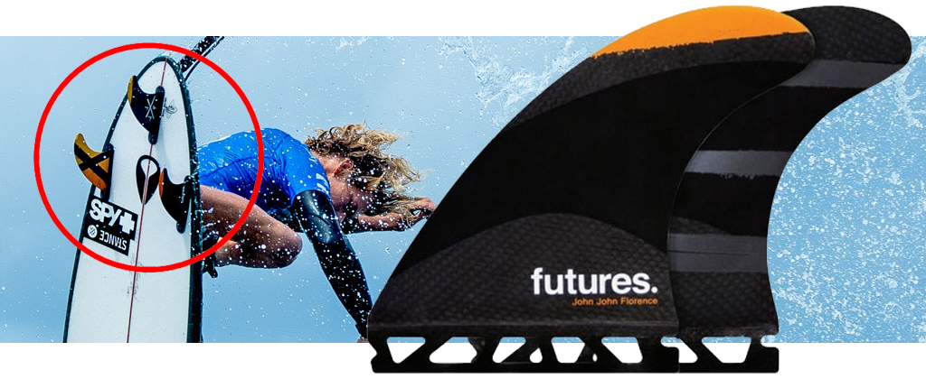 Future Fins John John Florence Medium Tech Flex
