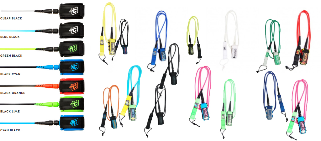 Surfboard Leash Engineered Cords