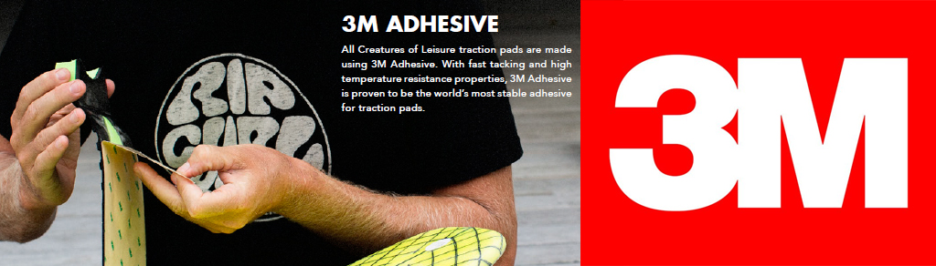 Surfboard Traction Creatures of Leisure 3M Adhesive