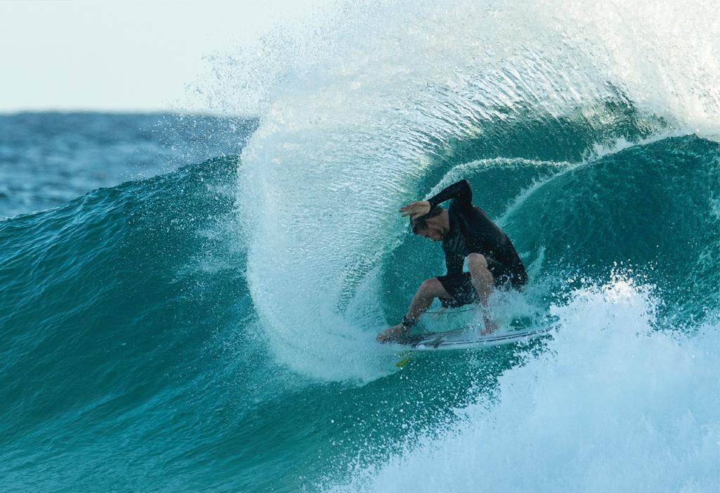 Surfboard Traction Owen Wright FCS Kolohe Andino