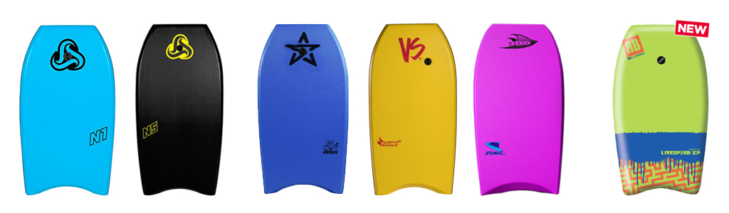 Bodyboarding Beginner Boards Nalu Stealth VS Project Manta Redback