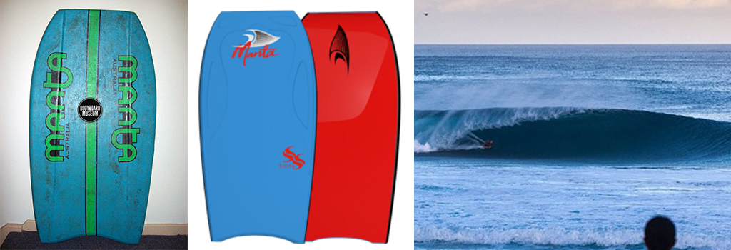 Bodyboarding Manta Bodyboards