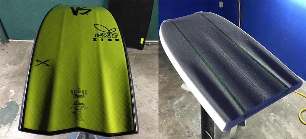VS Bodyboards Wi-Fly Channels