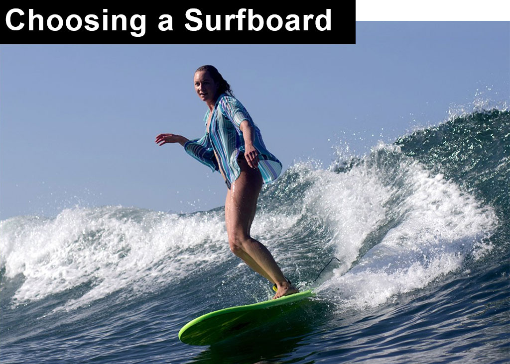 How To Choose A Surfboard Main Image