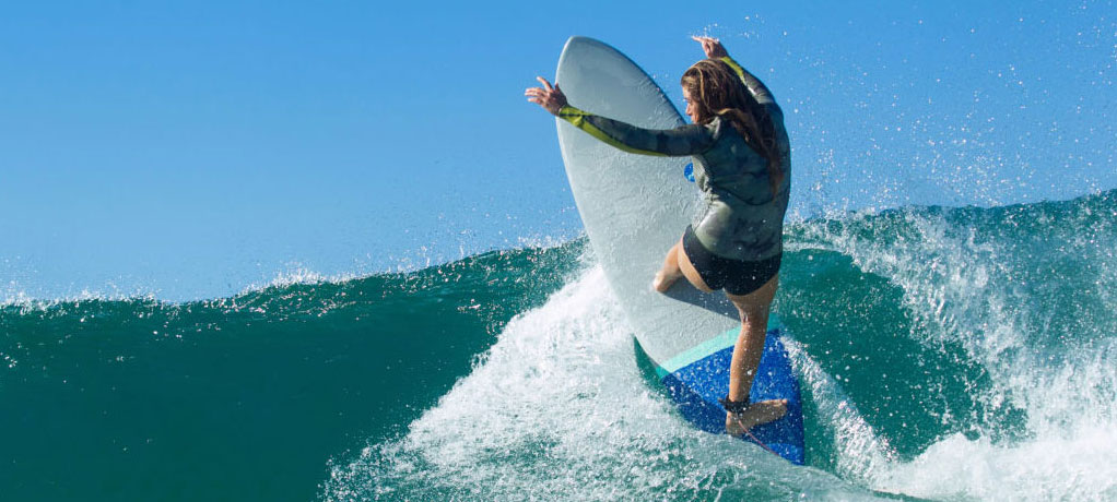 How To Choose A Surfboard NSP Re-entry Manoeuvre