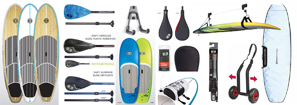 Ocean Earth Complete SUP Range