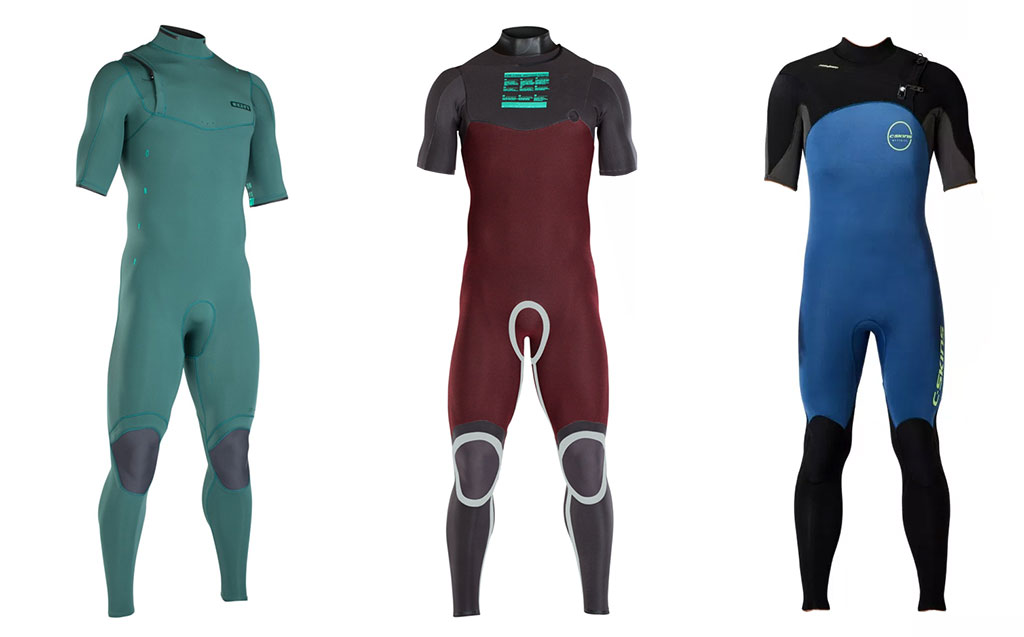Mid Season Wetsuit ION C-Skins Short Sleeve Steamers