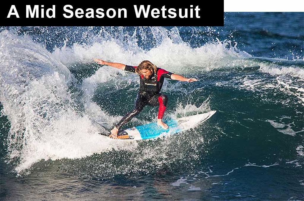 Mid Season Wetsuit Wade Carmichael Charging